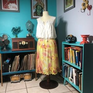Dresses & Skirts - TIE-DYED SKIRT